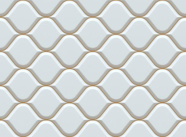 흰색 장식 패턴. 아랍어 완벽 한 패턴입니다.