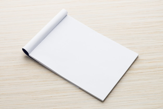 White paper mock up