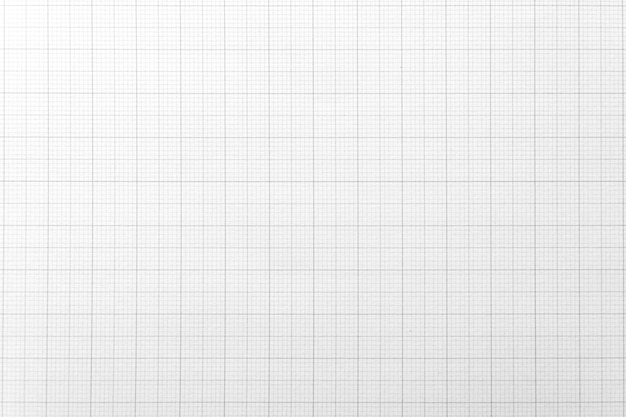 White paper with grid line pattern for background. close-up.