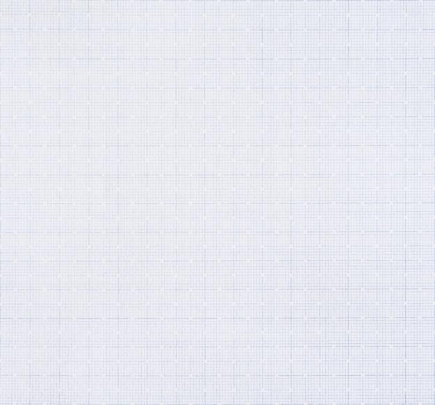 グリッド線パターンの背景を持つ白い紙。
