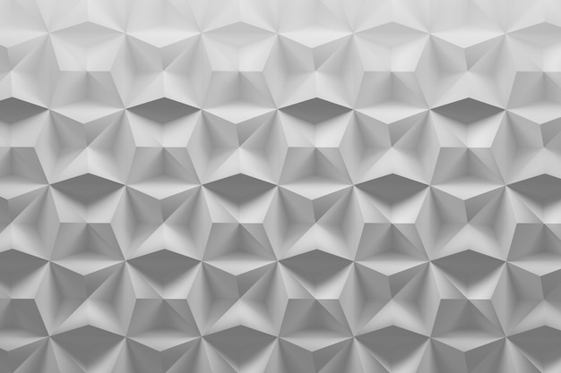 White pattern with textured surface and random tiles