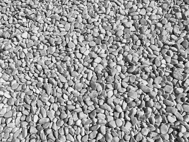 Белая галька каменная текстура фон.