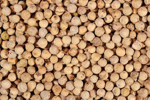 Семена белого перца как фоновая текстура