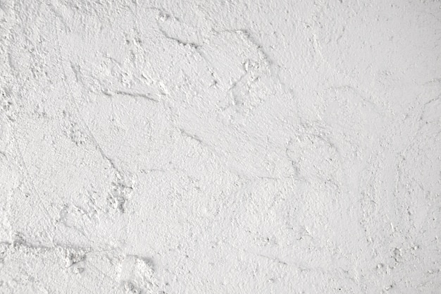 White plaster wall texture background.