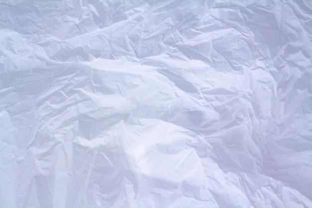 白いビニール袋のテクスチャ背景