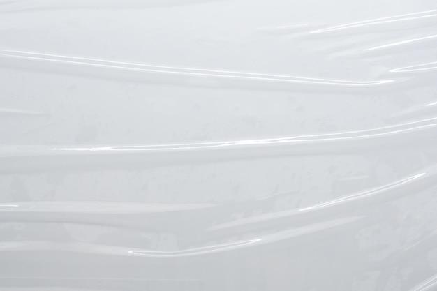 Белая пластиковая пленка текстура фон
