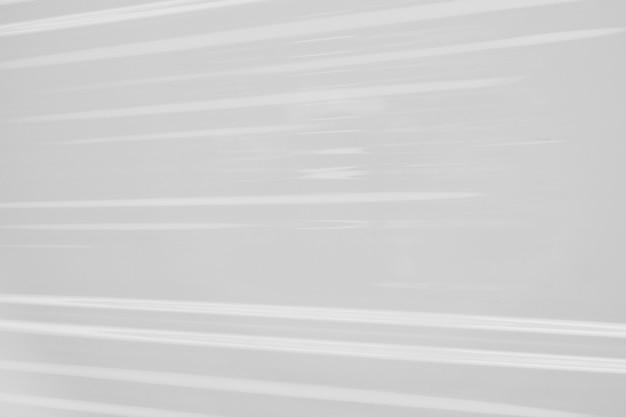 白いプラスチックフィルムラップテクスチャ背景
