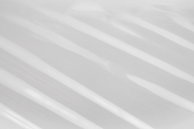 白いプラスチックフィルムラップテクスチャ