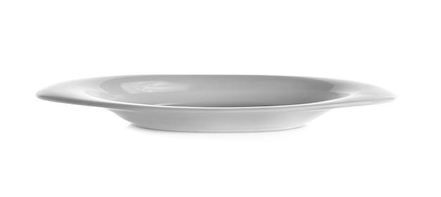 흰색 배경에 흰색 접시