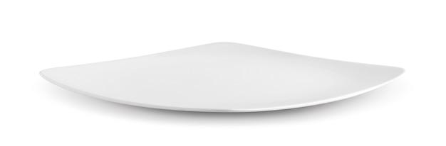 白い壁に白いプレート
