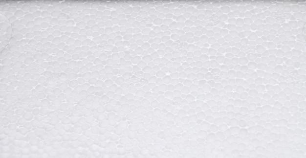 White polystyrene foam board
