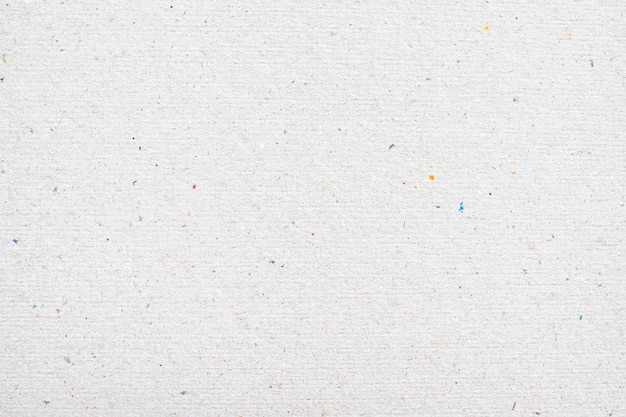 Белый фон текстуры переработанной бумаги.
