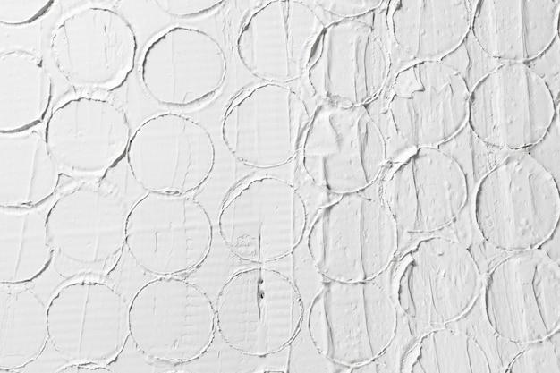 화이트 릴리프 패턴, 독창적 인 디자인, 치장 용 벽토 구조. 텍스트에 대 한 여유 공간이있는 젖은 석고 건물 배경.