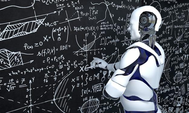 Технология белых роботов работает над математикой