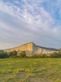 크림의 흰 바위 크림의 흰 바위 명소 높은 바위 바위 산