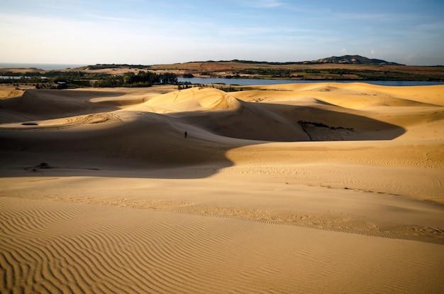 White sand dune, mui ne, vietnam