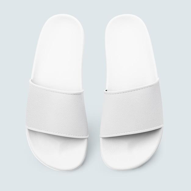 White sandals summer footwear fashion