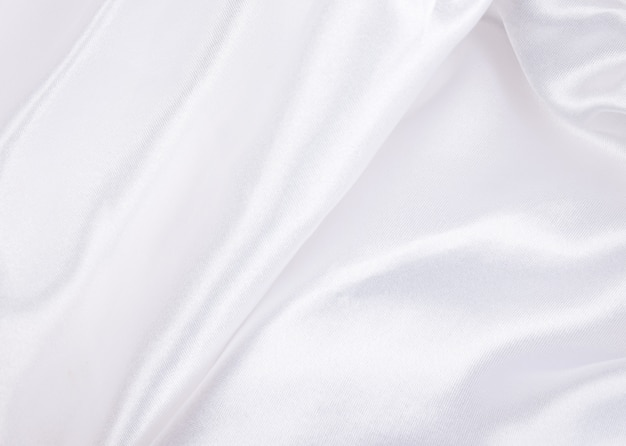 White silk as a silk background or texture