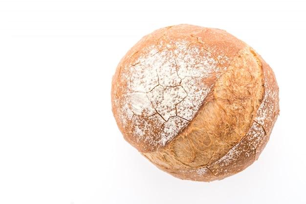 White slice breakfast dough flour