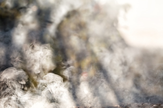 Белый дым, фон.