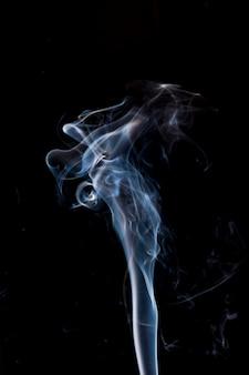 White smoke movement.