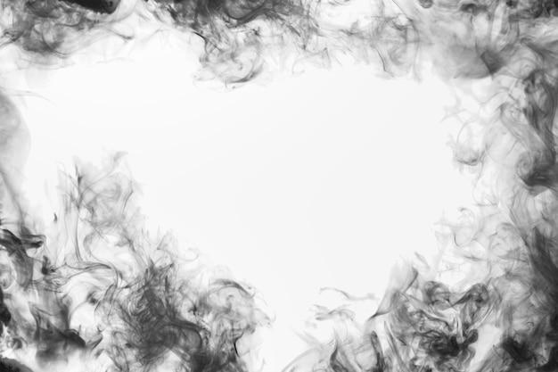 Sfondo del desktop astratto sfondo fumo bianco