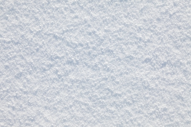 White smooth snow textured background