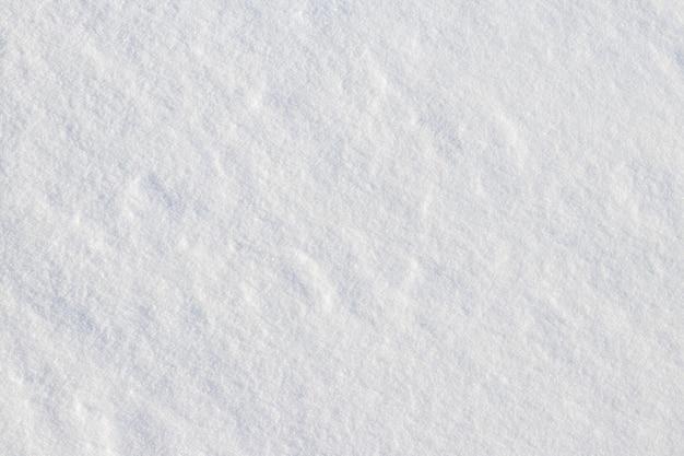 晴天時のきめの細かい白い雪、雪のある冬の背景