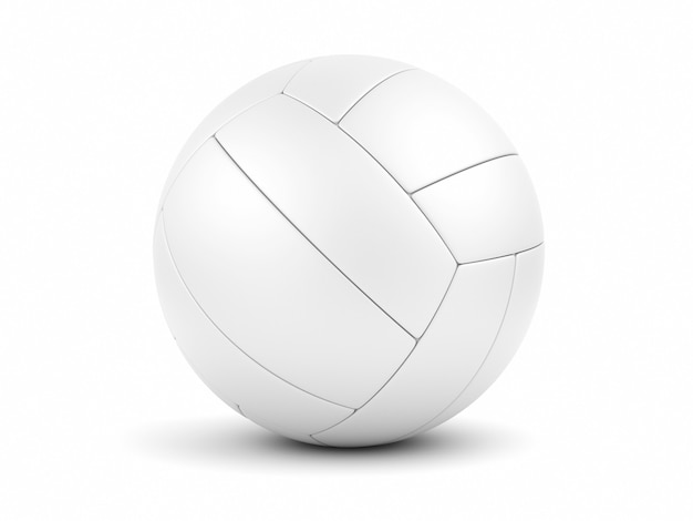 White soccerball on white closeup