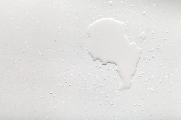 흰색 유출 물 근접 촬영 광택 우유 액체