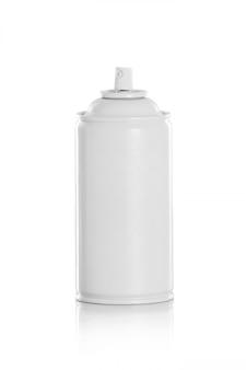 白いスプレー缶 Premium写真