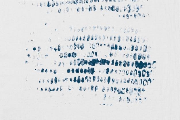 Белый штампованный фон с синими блочными принтами diy
