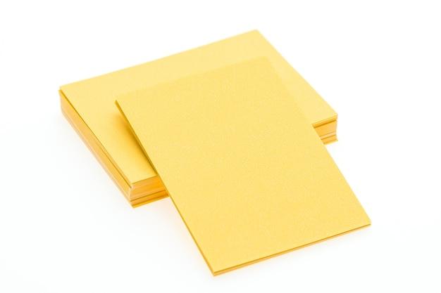 Bianco fermo mockup documento aziendale