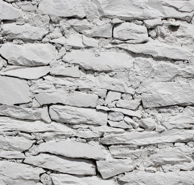 White stone wall texture background