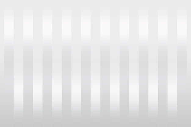 White stripes patterned on a gray background