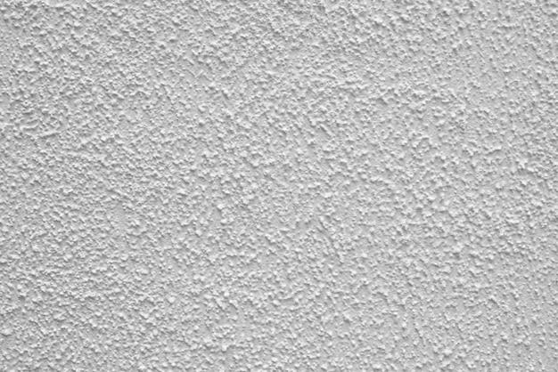 White texture of gray stucco.