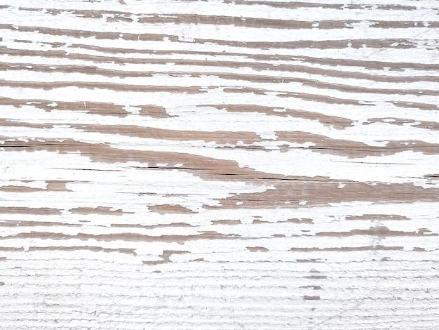 풍화된 나무 판자의 흰색 질감