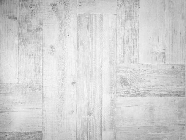 풍화된 나무 판자 바닥의 흰색 질감