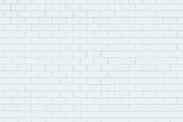 White textured brick wall
