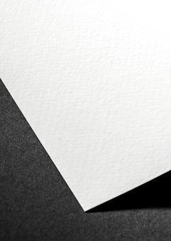 Primo piano di branding materiale testurizzato bianco