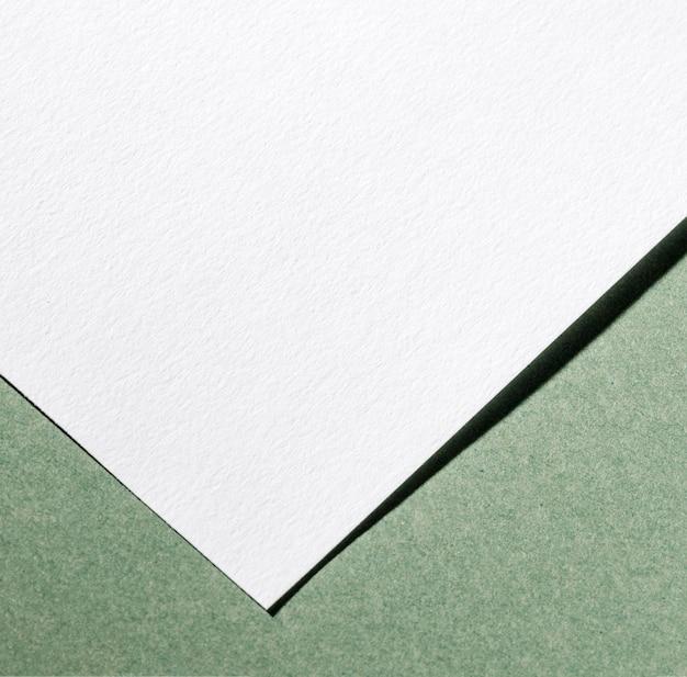 흰색 질감 된 종이 클로즈업