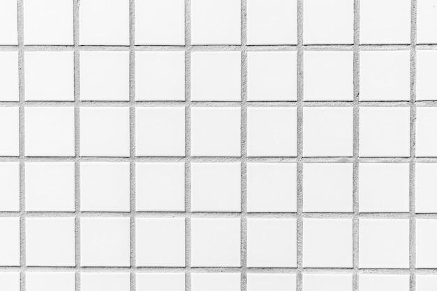 White tiles textures