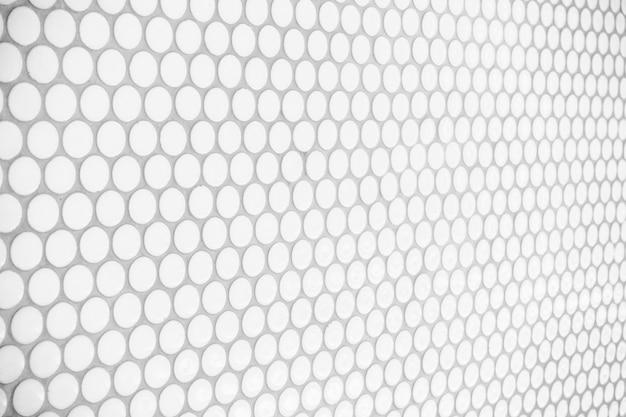 White tiles wall