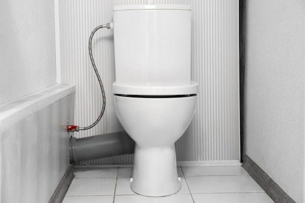 浴室の白い便器