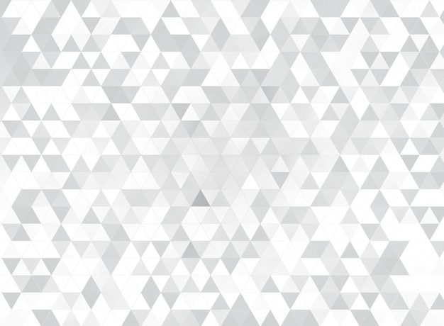 White triangles mosaic background