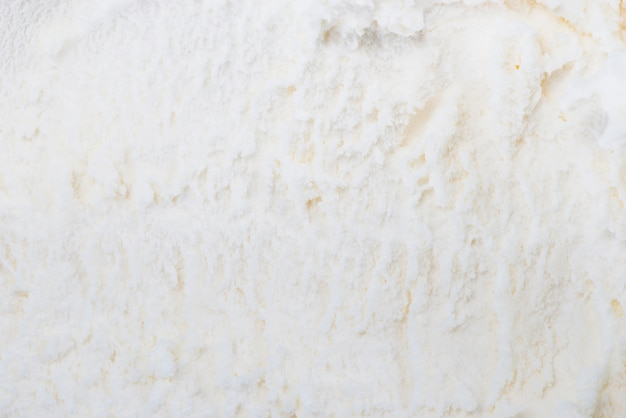 White vanilla ice cream background