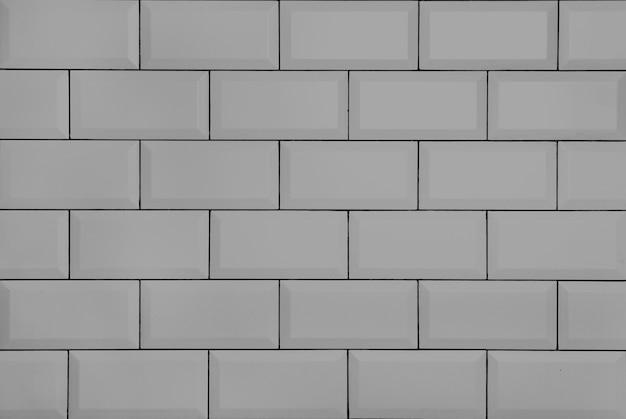 White vintage brick wall
