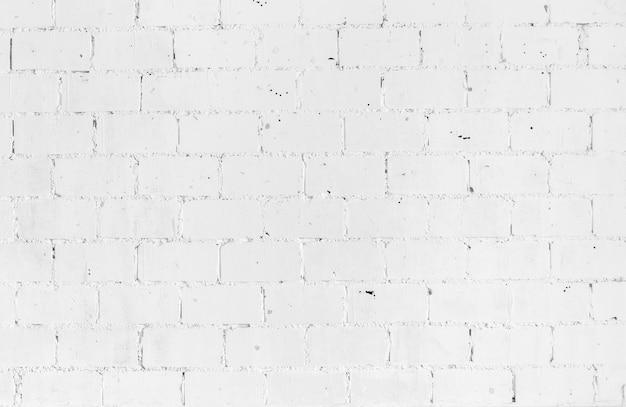 White vintage brickwall