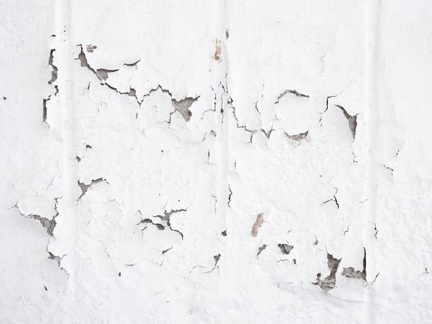 흰 벽 시멘트 금이 질감 배경