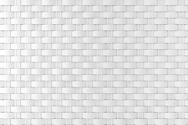 배경 극단적인 근접 촬영으로 흰색 고리 버들 세공 패턴